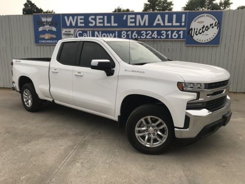Pre-Owned 2019 Chevrolet Silverado 1500 LT 4WD 4D Double Cab