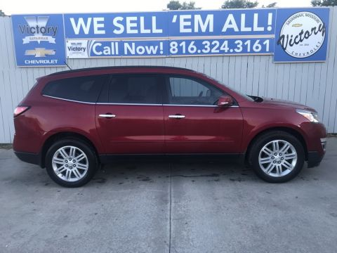 Pre-Owned 2014 Chevrolet Traverse LT AWD 4D Sport Utility