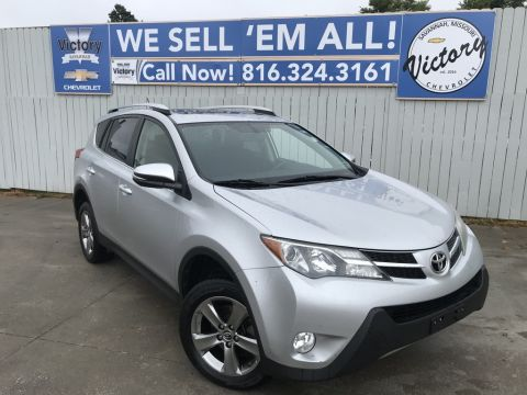 Pre-Owned 2015 Toyota RAV4 XLE AWD 4D Sport Utility
